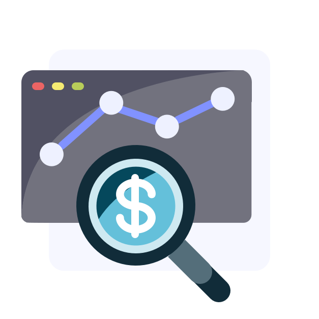 Financial modelling magnifier to get an overview of your business
